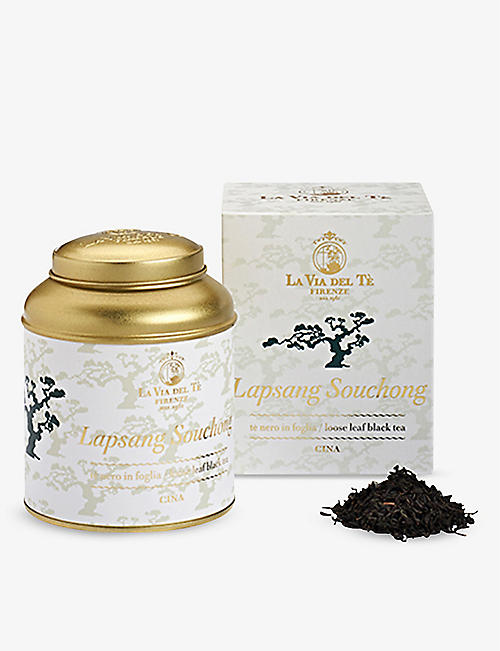 TEA: La Via Del Tè Firenze Lapsang Souchong loose-leaf tea 100g