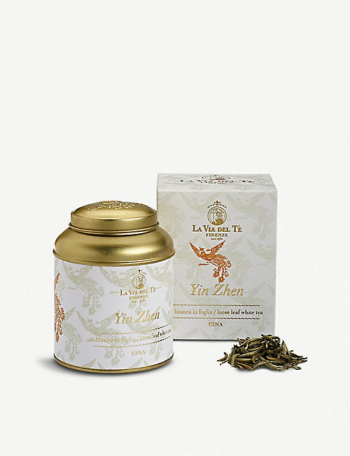 TEAS: La Via Del Tè Yin Zhen loose-leaf white tea 100g