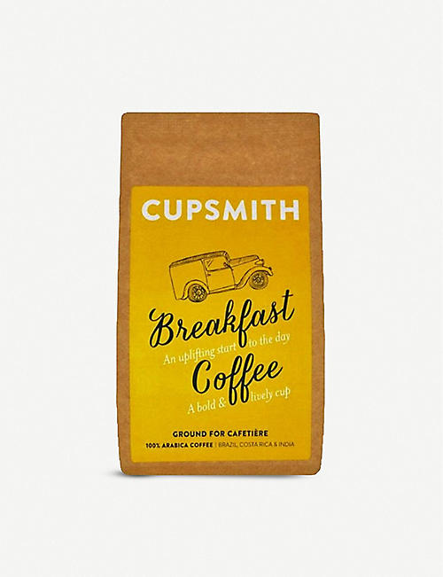 CUPSMITH: Ground breakfast coffee 227g