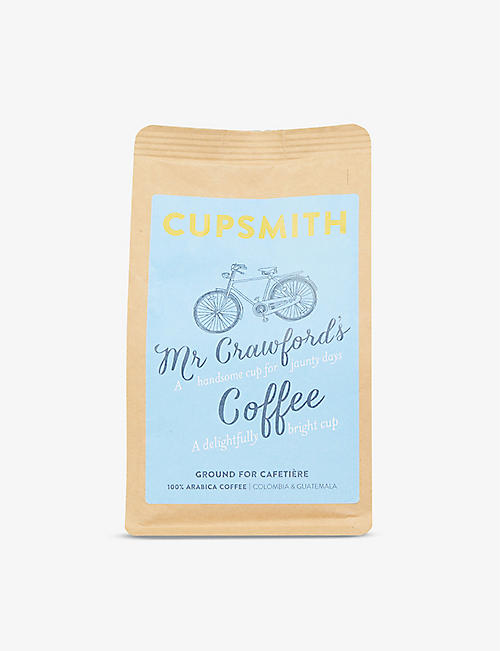CUPSMITH: Mr Crawford's Blend ground coffee 227g