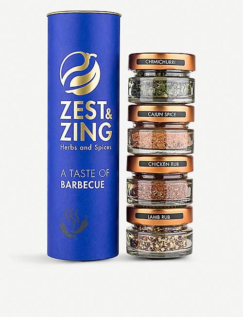 ZEST AND ZING Taste of Barbecue gift set 600g