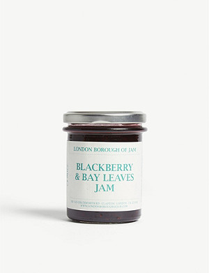 LONDON BOROUGH JAM Blackberry and bay leaves jam 220g