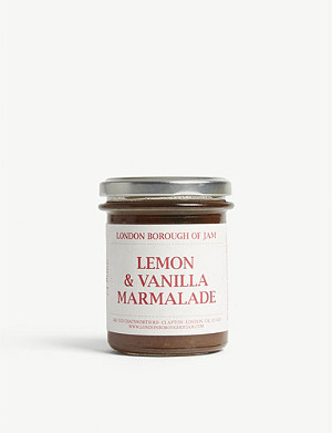 LONDON BOROUGH JAM Lemon and vanilla marmalade 220g