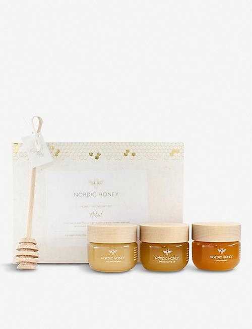 NORDIC HONEY Honey Tasting gift set 225g
