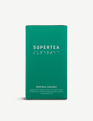 SUPERTEA Moringa organic tea box of 20