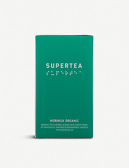 SUPERTEA: Moringa organic tea box of 20