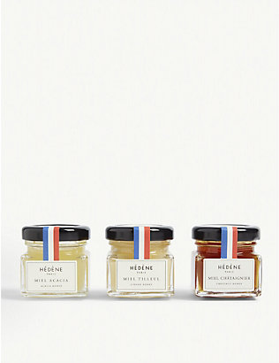 HONEY: Honey tasting set 120g