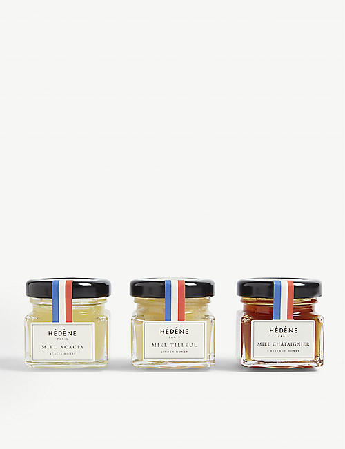 THE LONDON HONEY COMPANY: Honey tasting set 120g