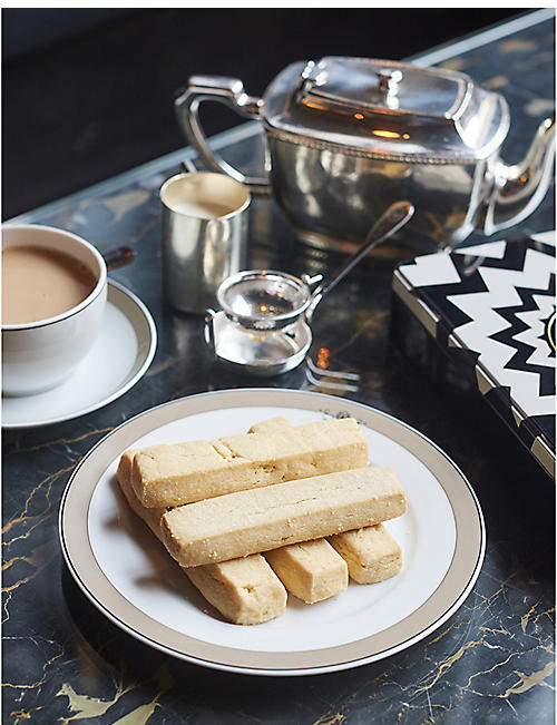 THE WOLSELEY All butter shortbread box of eight