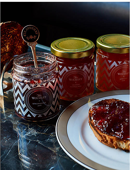 THE WOLSELEY Jams & Marmalade gift set of three