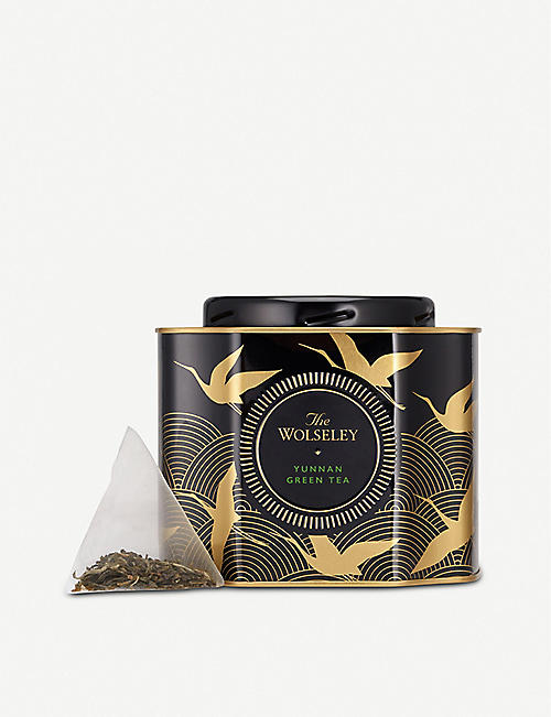 THE WOLSELEY Yunnan green tea bags pack of 20