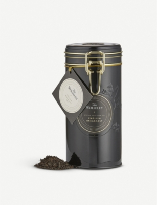 THE WOLSELEY English Breakfast loose leaf tea tin 250g