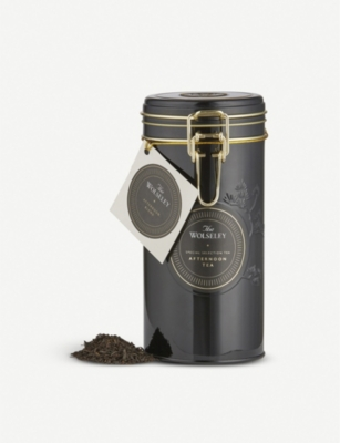 THE WOLSELEY Afternoon Blend loose leaf tea tin 250g