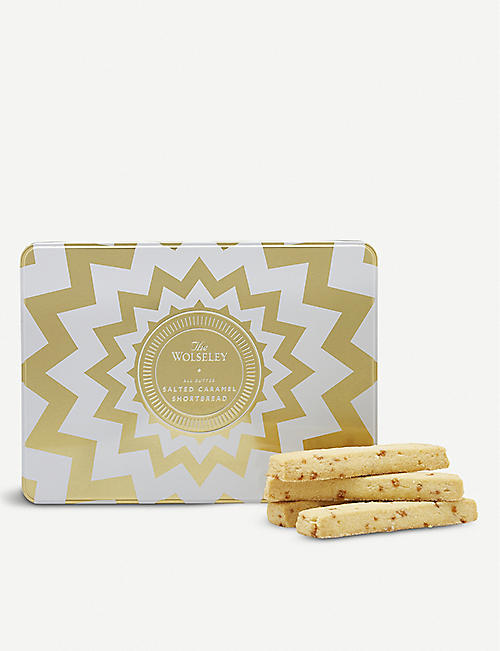 THE WOLSELEY Salted caramel shortbread 260g