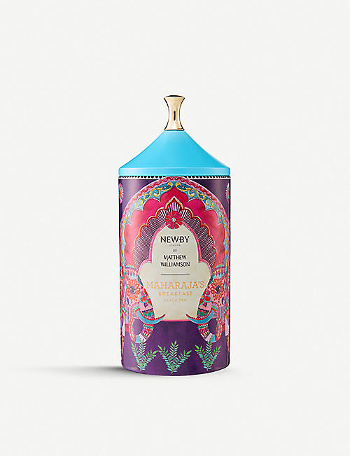 NEWBY TEAS UK: Newby x Matthew Williamson Maharaja's Breakfast tea 75g
