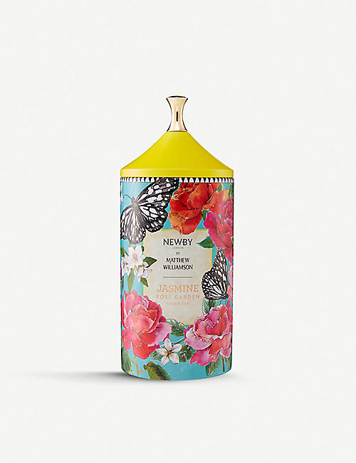 NEWBY TEAS UK: Newby x Matthew Williamson Jasmine Rose Garden tea 75g