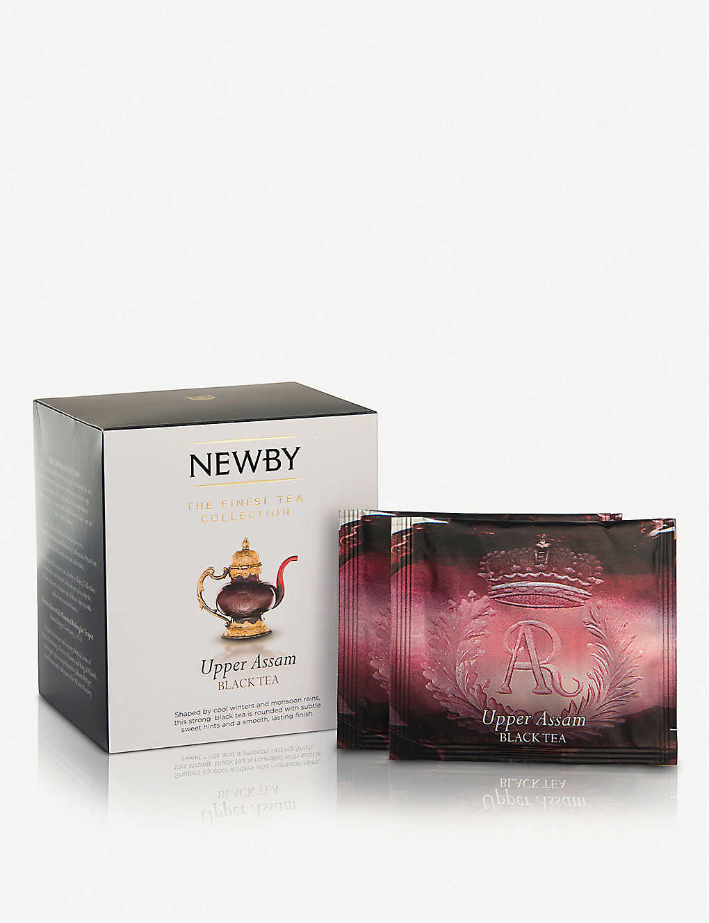 NEWBY TEAS UK: Upper Assam pyramid tea bags box of 15