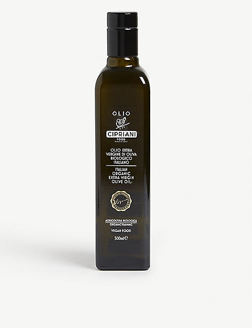 CIPRIANI Italian organic extra virgin olive oil 500ml