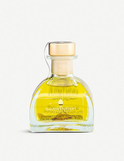 SAVINI TARTUFI: White truffle-flavoured virgin oil 100ml