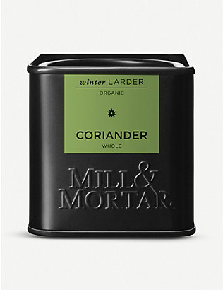 MILL & MORTAR: Coriander seeds 35g