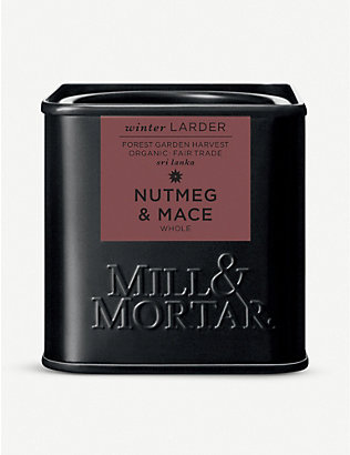 MILL & MORTAR: Nutmeg and mace 45g