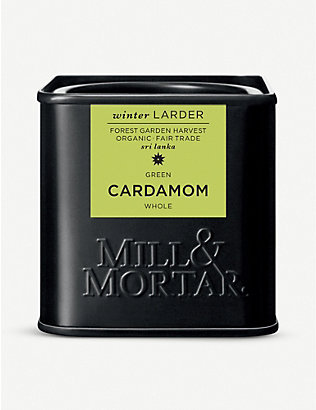 MILL & MORTAR: Whole cardamom 25g