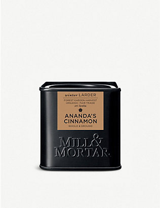 MILL & MORTAR: Ananda's whole and ground cinnamon 45g