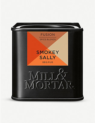 MILL和MORTAR:Smokey Sally 香料混合 50 克