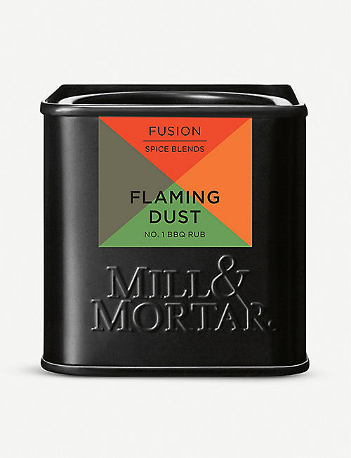 MILL & MORTAR: Flaming Dust BBQ rub 50g