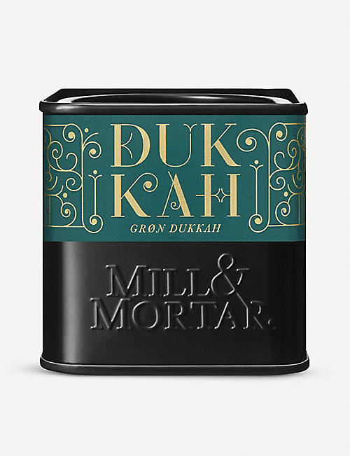 MILL & MORTAR: Green Dukkah 75g