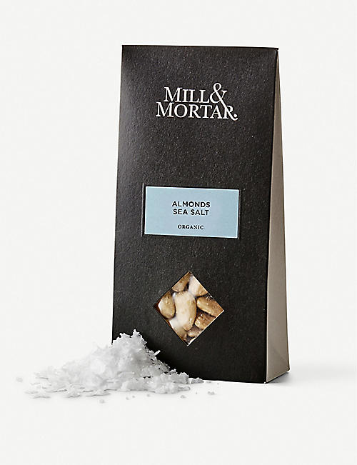 MILL & MORTAR: Sea salt almonds 100g