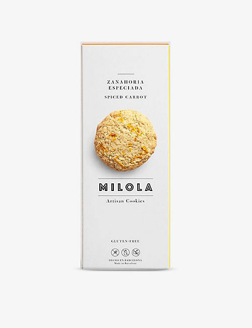 BISCUITS: Milola Artisan Cookies hazelnut chocolate chip cookies 50g