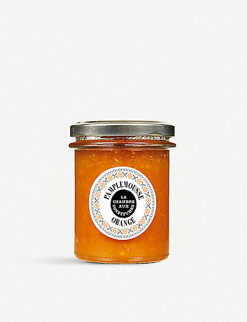LA CHAMBRE AUX CONFITURES Grapefruit and orange jam 100g