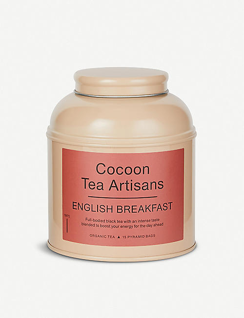 COCOON English breakfast organic tea caddy 30g