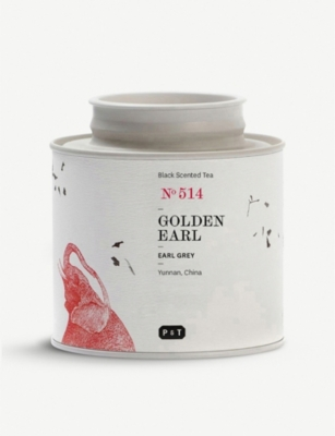 PAPER AND TEA Golden Earl tea blend caddy 60g