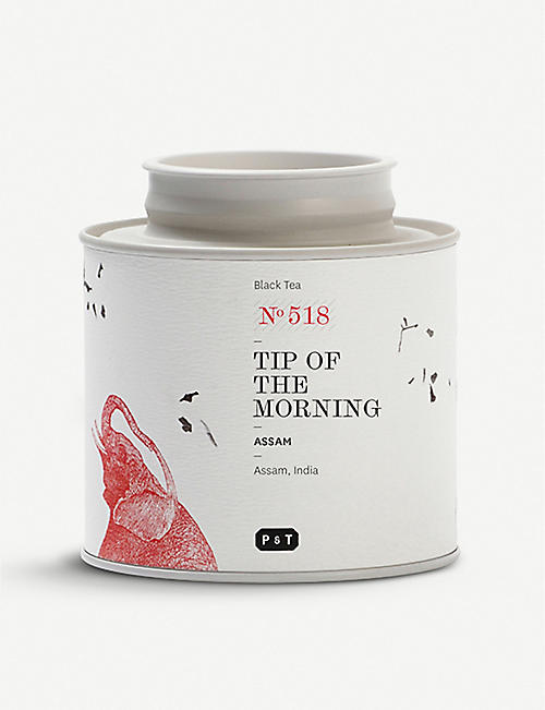 PAPER AND TEA: Tip Of The Morning black tea blend caddy 80g