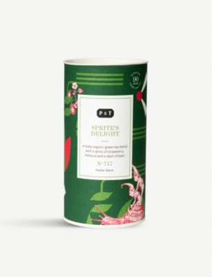 PAPER AND TEA Sprite's Delight green tea blend caddy 90g
