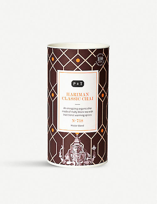 PAPER AND TEA: Hariman Classic Chai blend caddy 100g