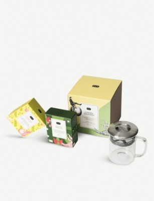 PAPER AND TEA Garden Delights tea gift set