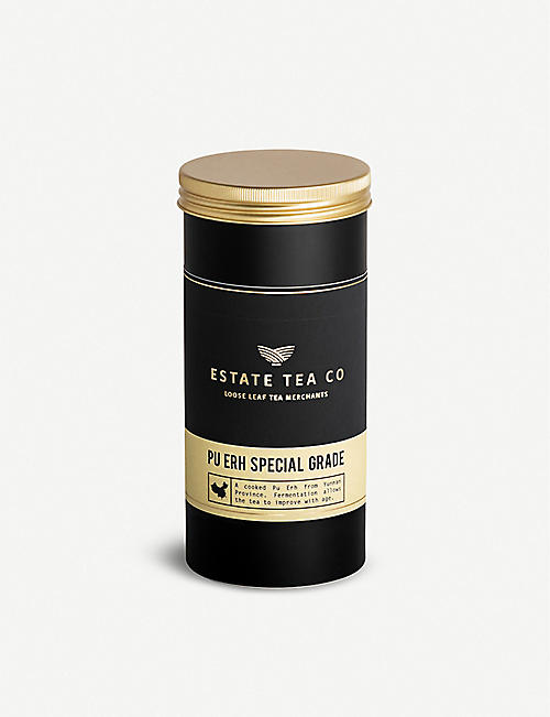ESTATE TEA CO: Pu Erh Special Grade loose leaf tea 50g