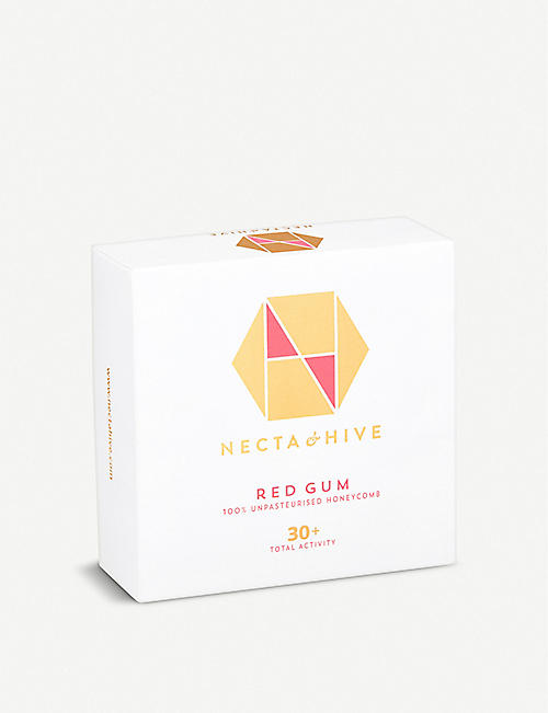 NECTA & HIVE Red Gum unpasteurised honeycomb 30+ 300g
