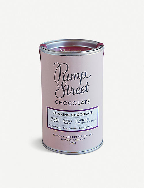 PUMP STREET: St Vincent 75% drinking chocolate 200g