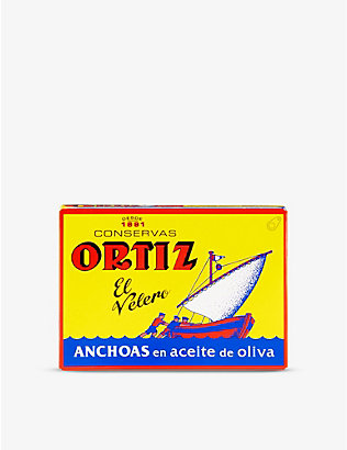 ORTIZ: Anchovy fillets 78g