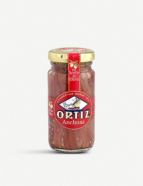 ORTIZ: Anchovy fillets 95g