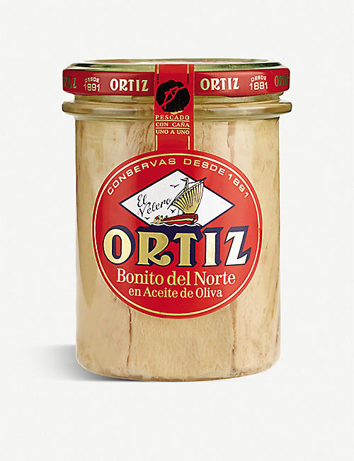 ORTIZ: Tuna fillets in water 220g