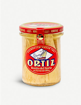 ORTIZ: Tuna fillets in olive oil 220g