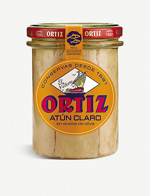 ORTIZ: Yellowfin tuna fillets in olive oil 220g