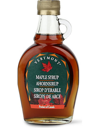 CONDIMENTS & PRESERVES: Maple Syrup 187ml