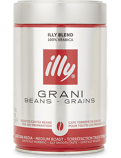 ILLY: Illy medium roast coffee beans 250g