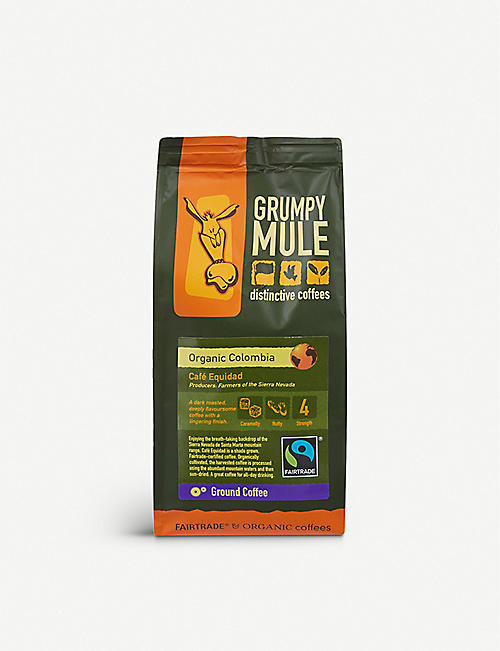 GRUMPY MULE: Café Equidad ground coffee 227g